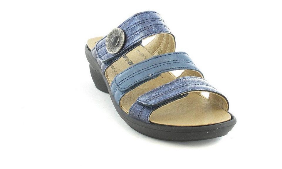 Romika Pantoletten in Blau