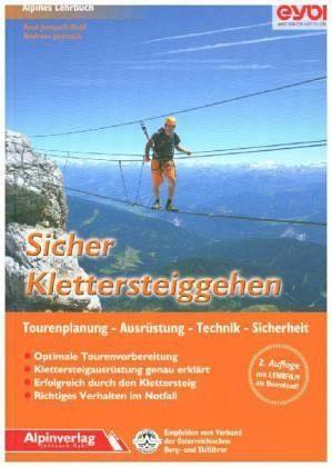 Broschiertes Buch »Sicher Klettersteiggehen«