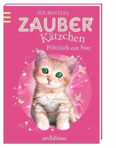 Gebundenes Buch »Plötzlich ein Star! / Zauberkätzchen Bd.3«