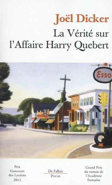 Broschiertes Buch »La vérité sur l'affaire Harry Québert«
