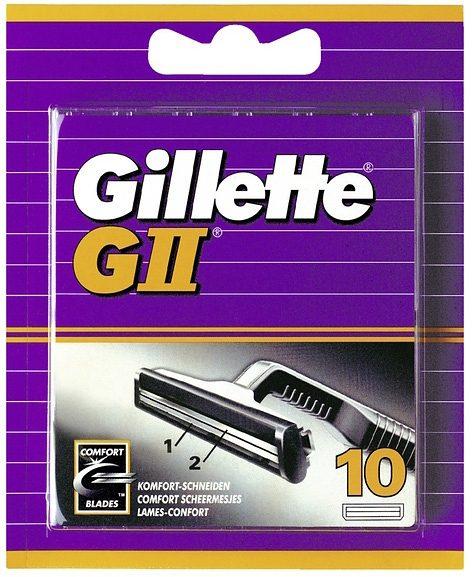 Gillette,»GII«, Rasierklingen (10 Stck.)