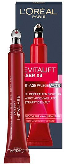 L'Oréal Paris »Revitalift Laser X3«, Anti-Age Augenpflege, 15 ml