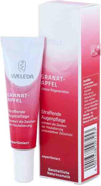 Weleda, »Granatapfel«, Straffende Augenpflege, 10 ml