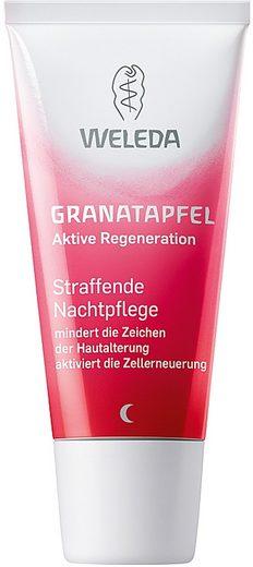 WELEDA Nachtcreme »Granatapfel«, Straffend