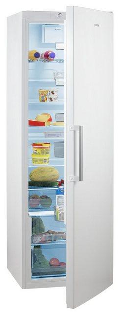 GORENJE Vollraumkühlschrank R6192FW, 185 cm hoch, 60 cm breit, 185 cm hoch, FreshZone-Schublade, Grossraum!