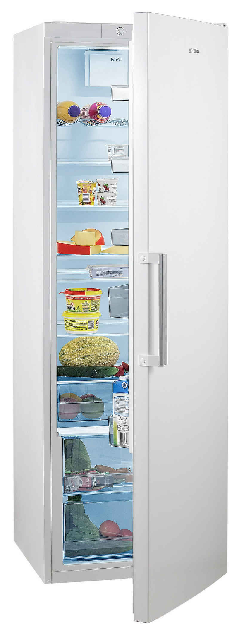 GORENJE Vollraumkühlschrank R6192FW, 185 cm hoch, 60 cm breit, 185 cm hoch, FreshZone-Schublade, Großraum!