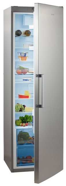 GORENJE Vollraumkühlschrank R6192FX, 185 cm hoch, 60 cm breit, 185 cm hoch, FreshZone-Schublade, Grossraum!