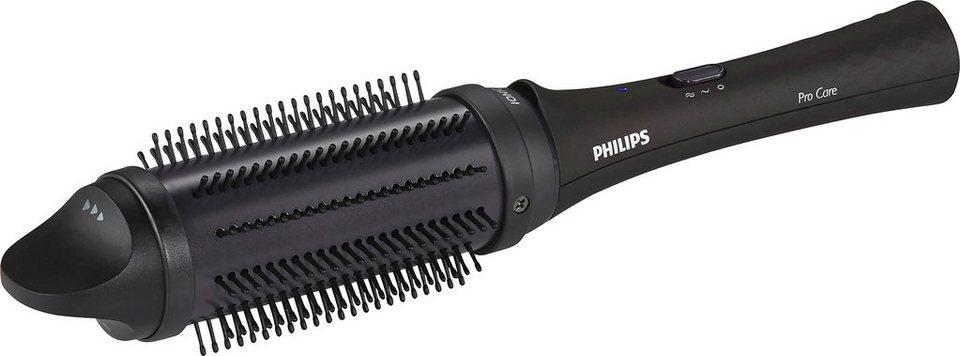Philips Stylingbürste HP8634/00 ProCare, einziehbare Bürsten, lila/schwarz in lila