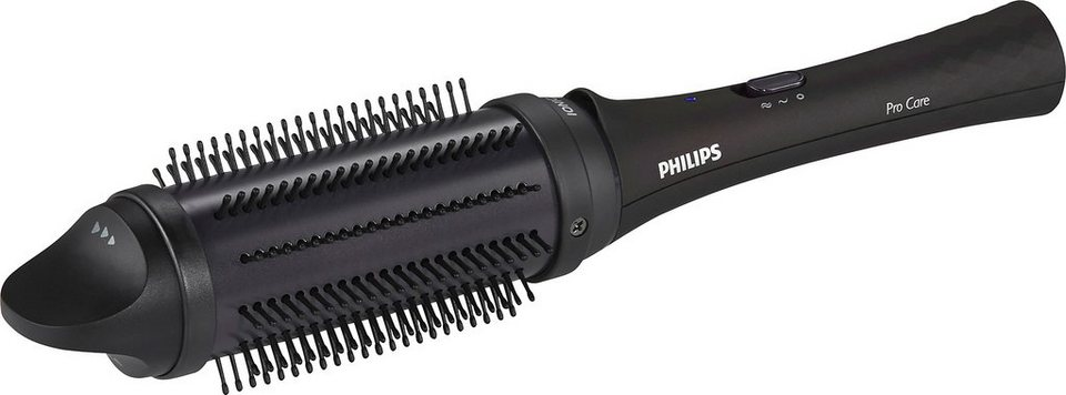 Philips Stylingbürste HP8634/00 ProCare, einziehbare Bürsten, lila/schwarz in schwarz