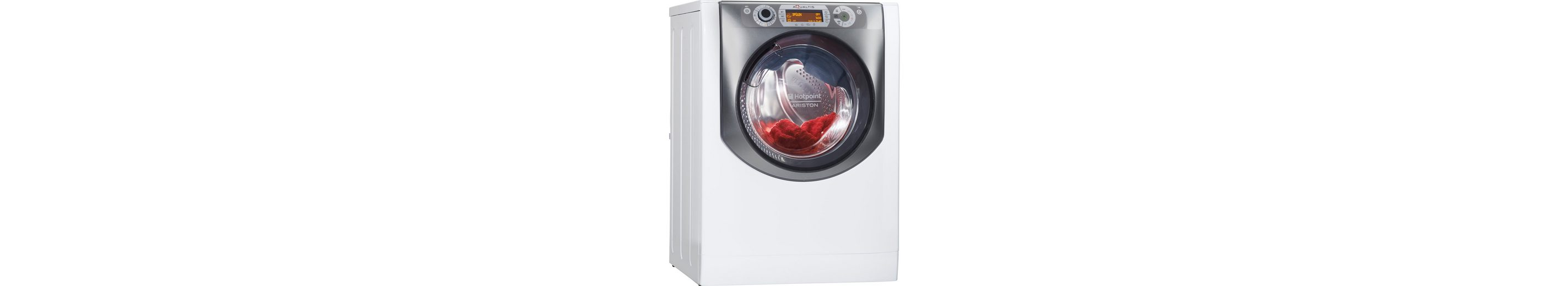 Hotpoint Waschtrockner AQD1071D 69 EU/A, A, 10 kg / 7 kg, 1600 U/Min