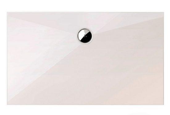 Rechteckduschwanne »Plan«, rechteckig, Sanitäracryl, BxT: 120 x 90 cm