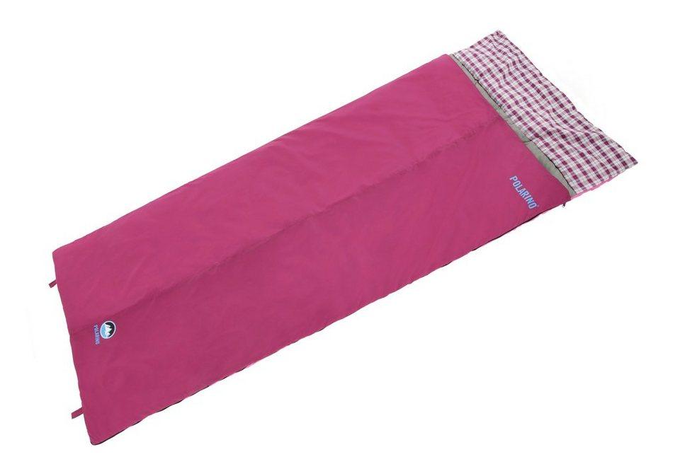 Deckenschlafsack, »Auror 250 XL«, Polarino in rot