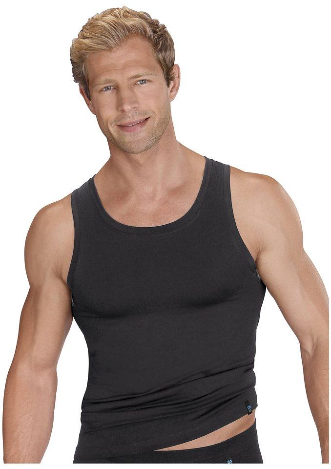 Unterhemd, Schiesser in schwarz