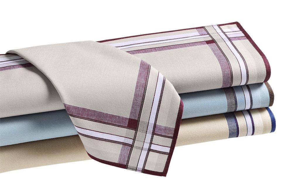 Taschentücher in farb-set