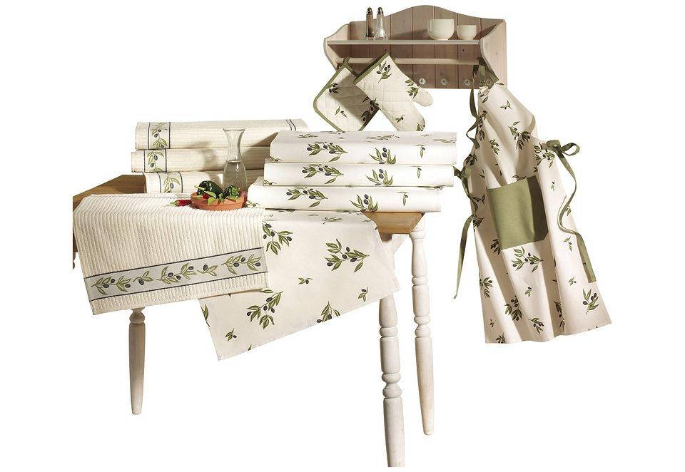 Küchenprogramm in grün