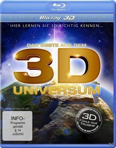 Blu-ray »Das Beste aus dem 3D Universum - Hier lernen...«