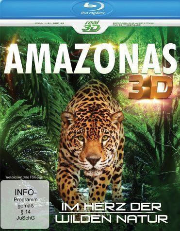 Blu-ray »Amazonas - Im Herz der wilden Natur (Blu-ray 3D)«
