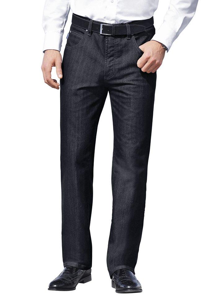 Pionier Jeans in gleichmäßiger Waschung in dark blue