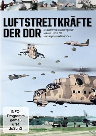 DVD »Luftstreitkräfte der DDR«