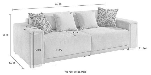 Sofas - COLLECTION AB Big Sofa, Größe L XXL, inklusive LED RGB Beleuchtung  - Onlineshop OTTO