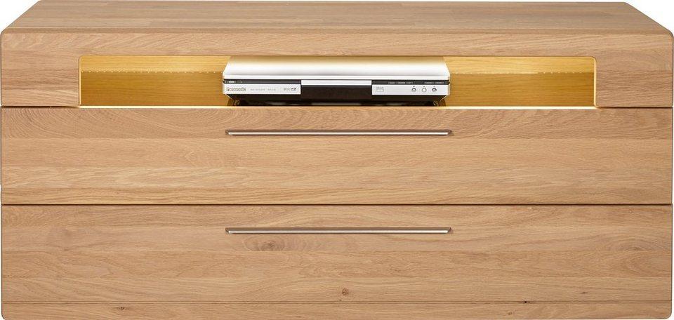 HARTMANN Lowboard »Viva«, Breite 126 cm in Wildeiche