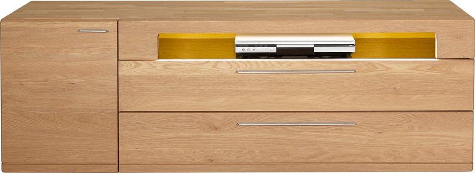 HARTMANN Lowboard »Viva«, Breite 168 cm in Wildeiche
