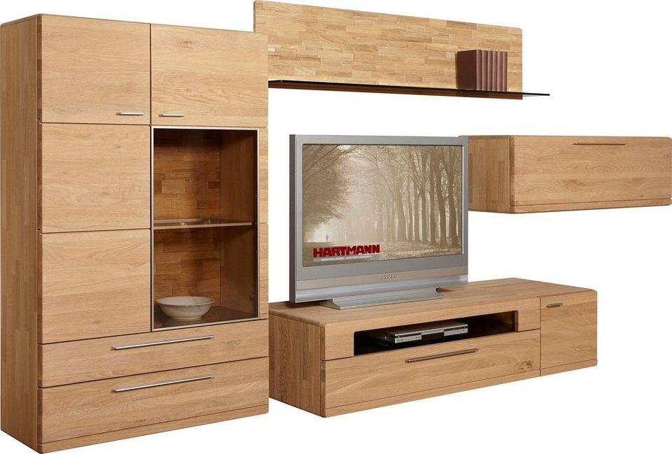 hartmann wohnwand viva 4 tlg online kaufen otto. Black Bedroom Furniture Sets. Home Design Ideas