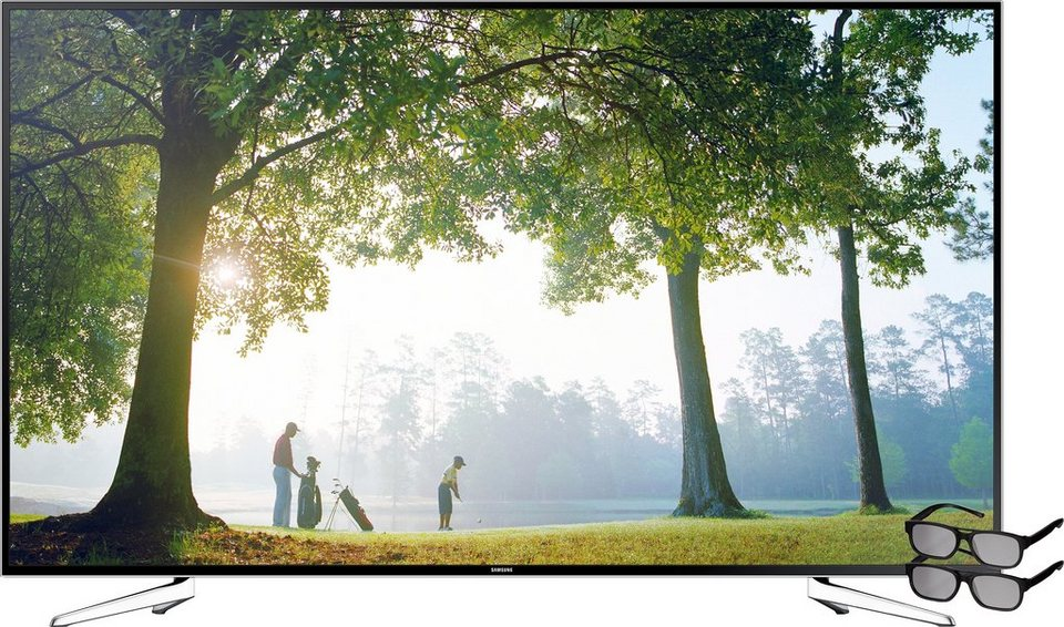 Samsung UE75H6470, LED Fernseher, 190 cm (75 Zoll), 1080p (Full HD), Smart-TV in Schwarz