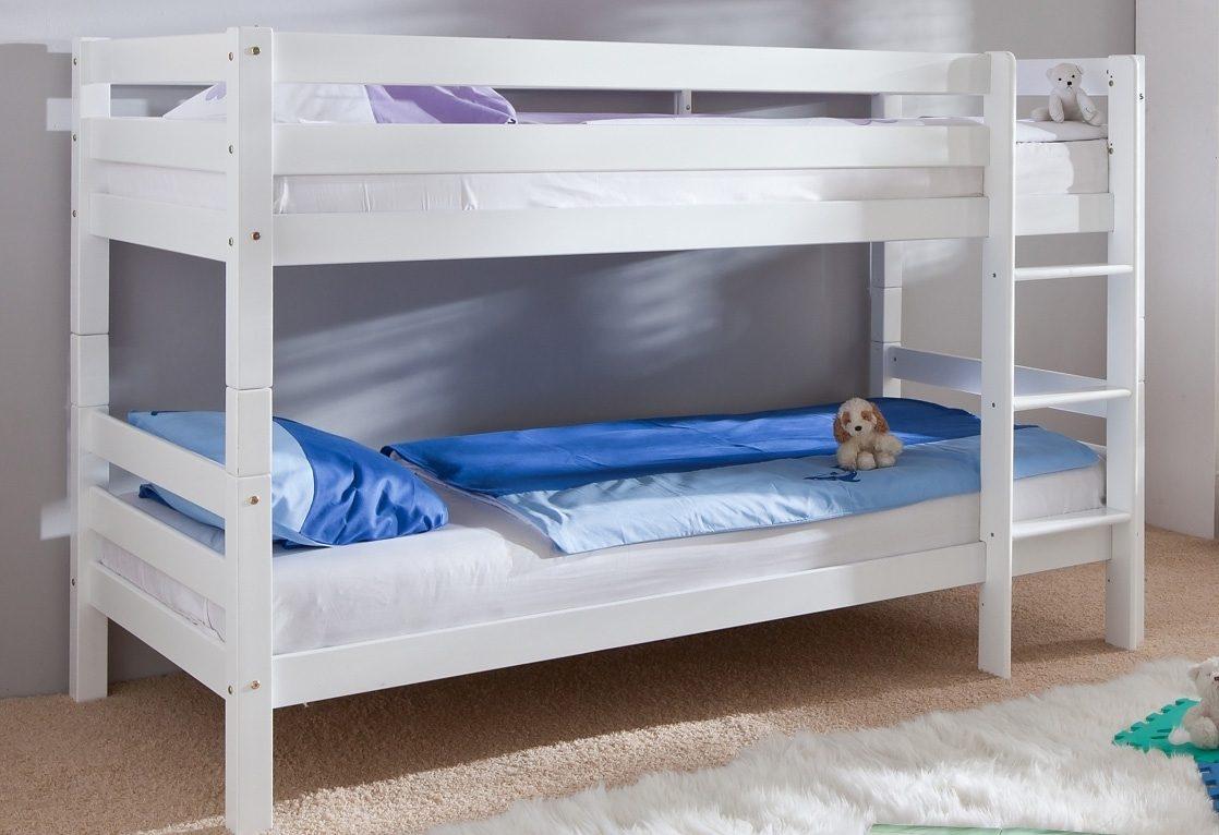 Etagenbett Rino : Kinder etagenbett mit bettkastenk treppe und geländer heiabubu