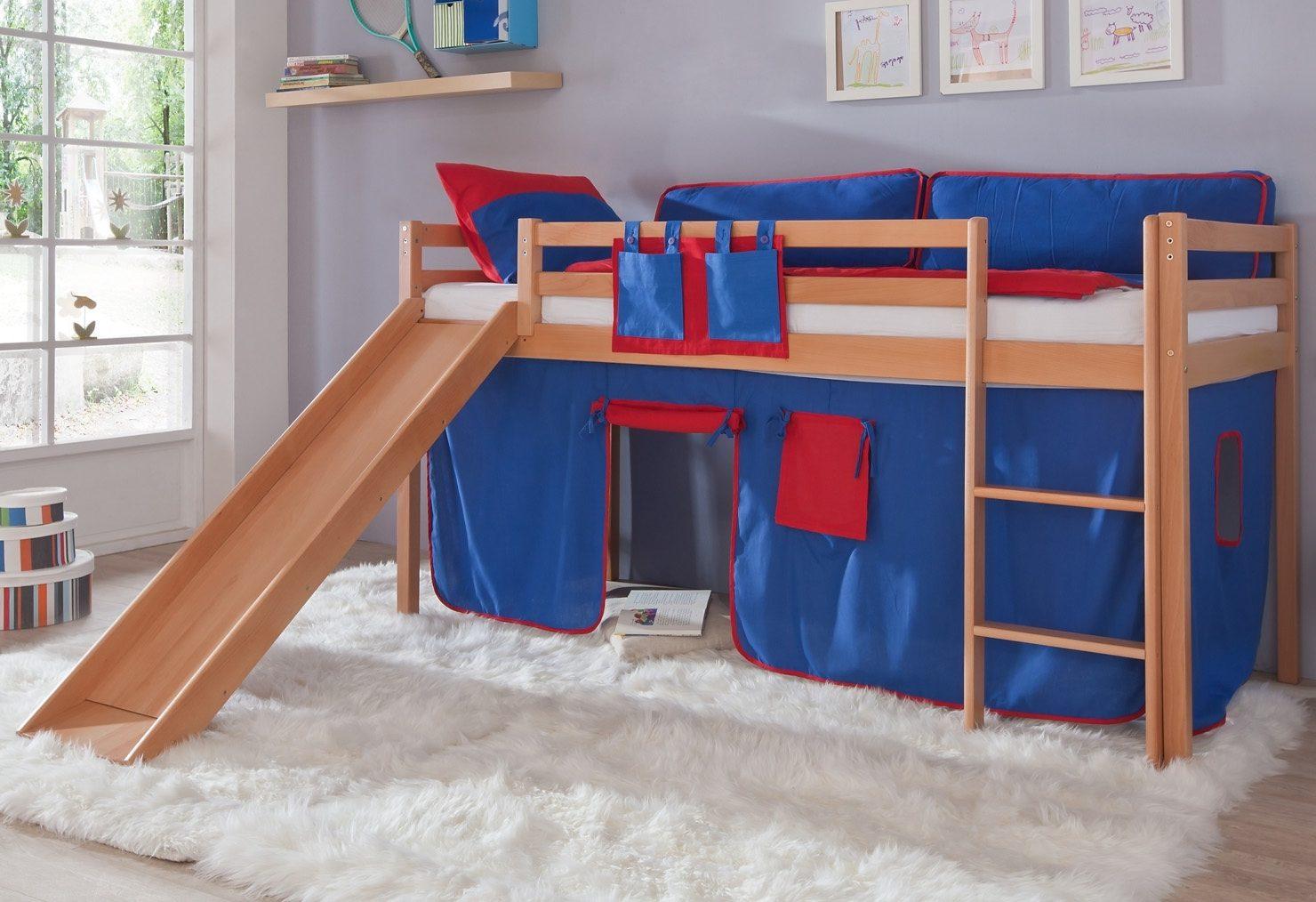 Vorhang Set Etagenbett : Relita hochbett set tlg u eu etobyu cu c online kaufen otto
