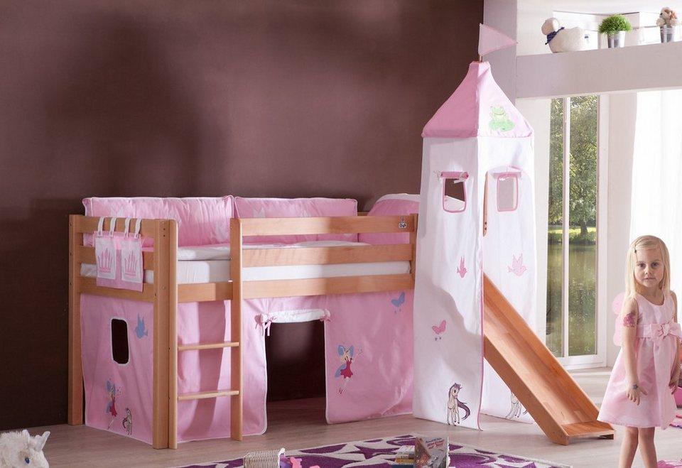 Relita Halbhohes Bett, Set 3-tlg. >>Alex<< in Princess