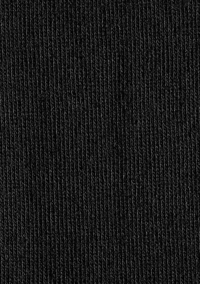 Socken (2er Pack) in schwarz