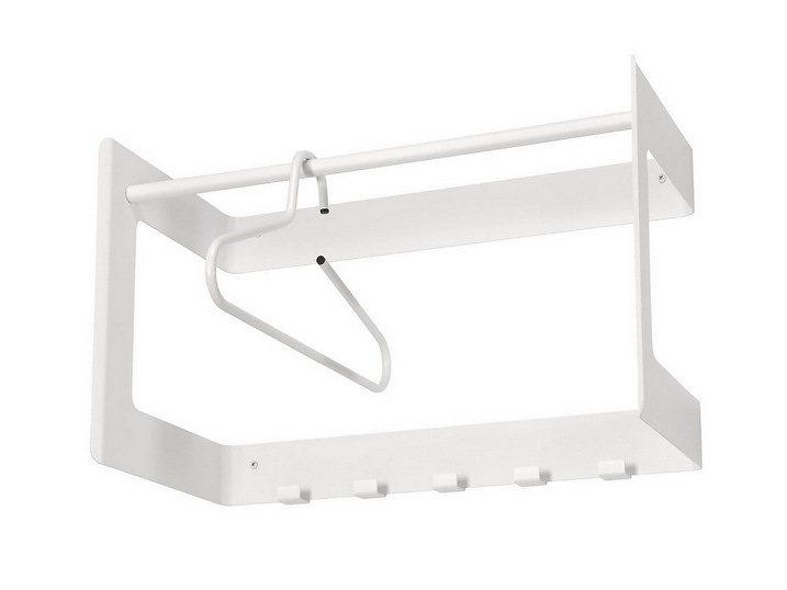 Kasper-Wohndesign Wandgarderobe klein in weiß »DAX Vision« in weiß