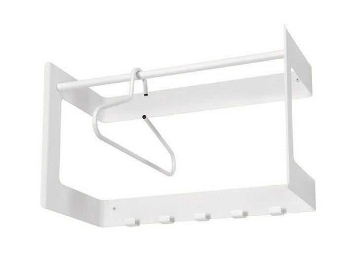 Kasper-Wohndesign Wandgarderobe klein in weiß »DAX Vision«