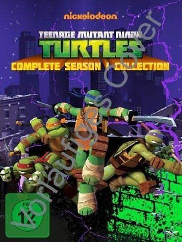 DVD »Teenage Mutant Ninja Turtles - Season 1 (4 Discs)«