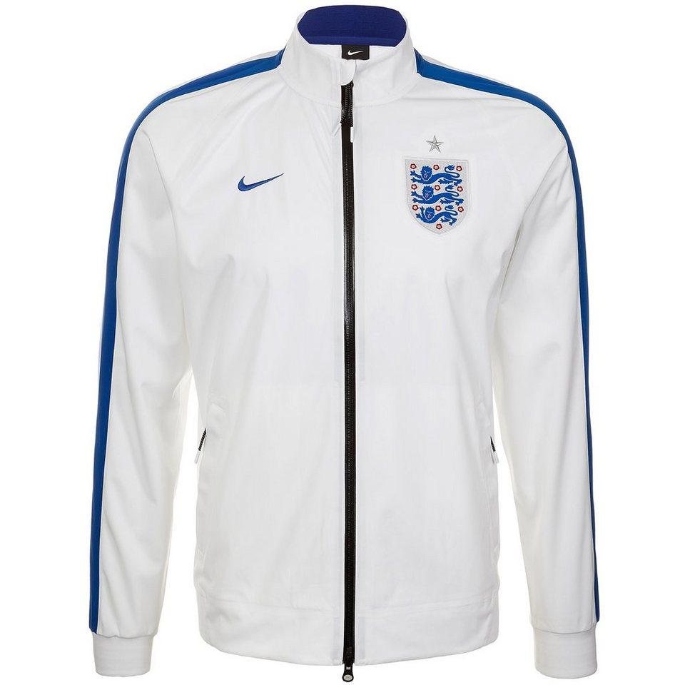 NIKE England N98 Anthem Track Jacke Herren in weiß / blau