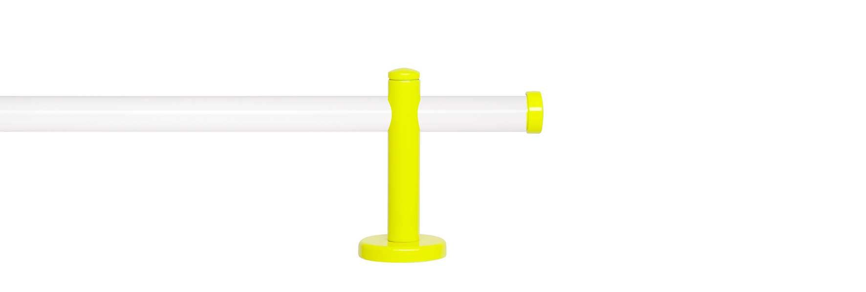 Gardinenstange 1-läufig nach Maß ø 20 mm, Indeko, »Sunny Weiß«