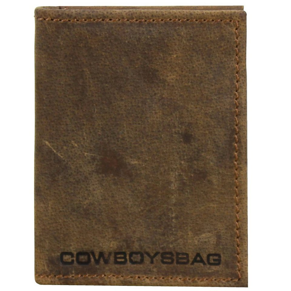 Cowboysbag Peachtree Geldbörse Leder 8 cm in cognac
