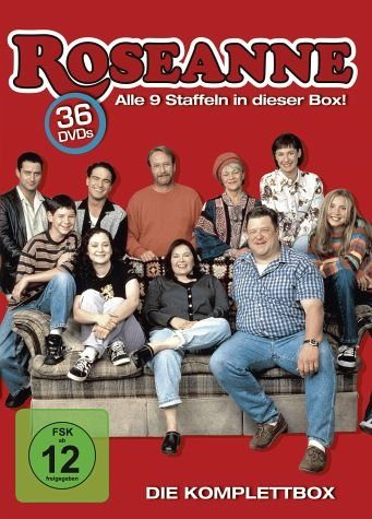 DVD »Roseanne - Die Komplettbox (36 DVDs)«