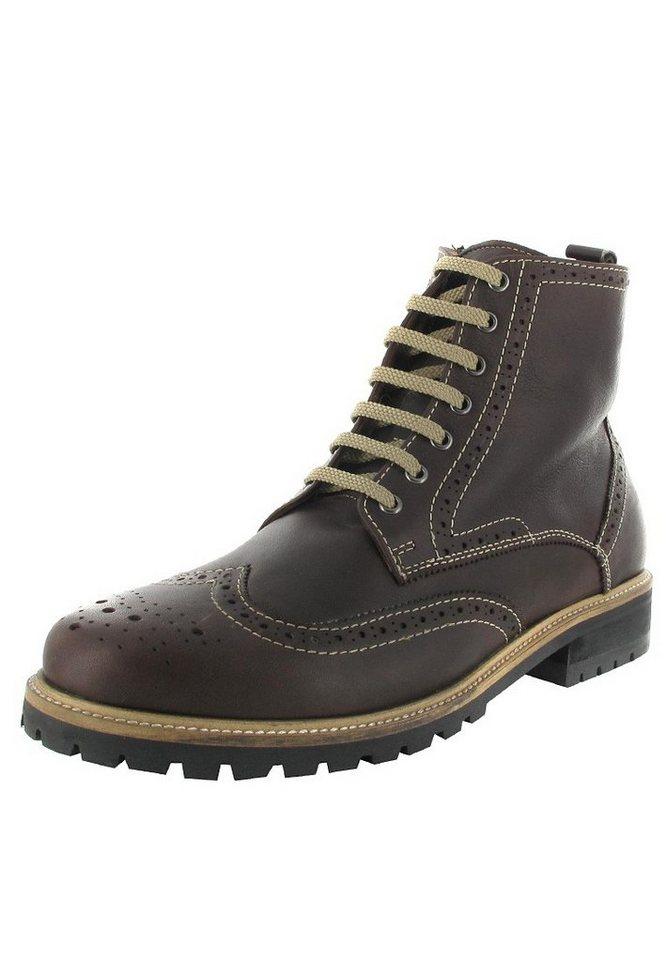 Manz Boots in Schwarz