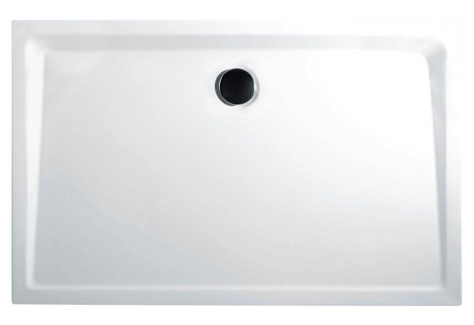 Rechteckduschwanne »Extraflach«, 75/90 cm