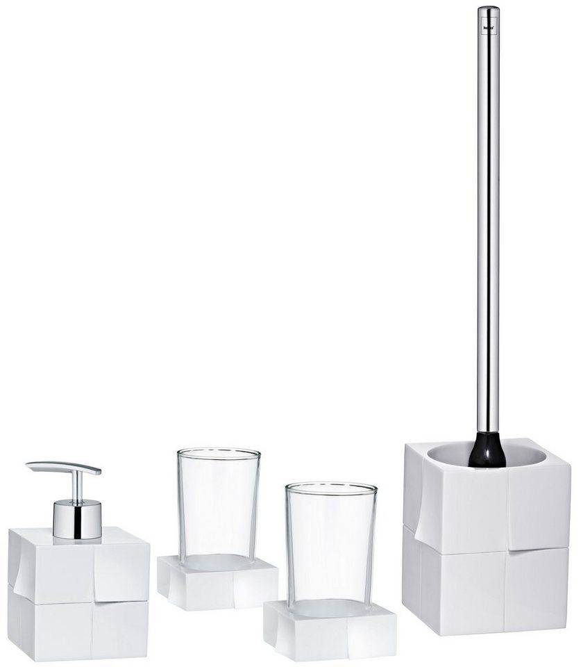 Badorganizer-Set »Doblez« in weiß