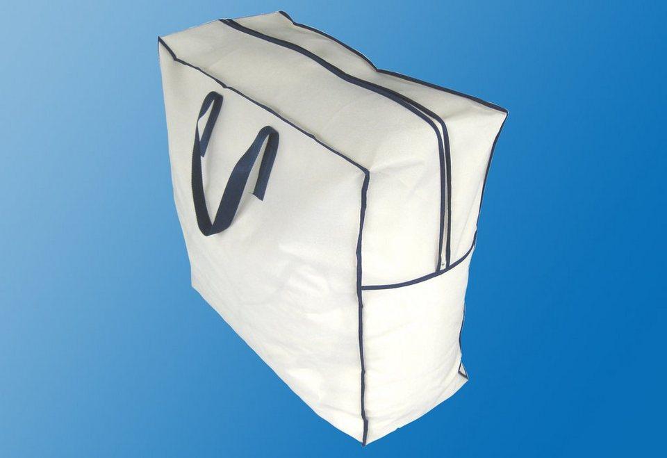 Set: Aufbewahrungstasche für Bettdecken & Kissen, Dreams (2-tlg. oder XXL-Variante)