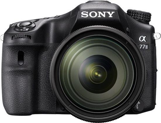 Sony »Alpha ILCA-77M2« Spiegelreflexkamera (SAL-1650, 24,3 MP, WLAN (Wi-Fi), Gesichtserkennung, HDR-Aufnahme)