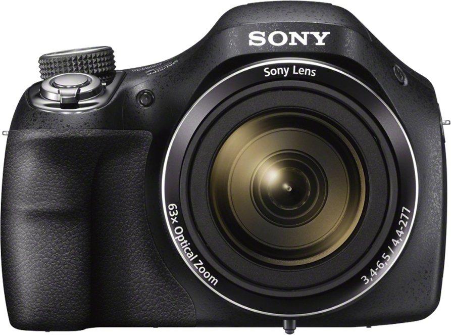 Sony Cyber-Shot DSC-H400 Super Zoom Kamera, 20,1 Megapixel, 7,5 cm (3 Zoll) Display in schwarz
