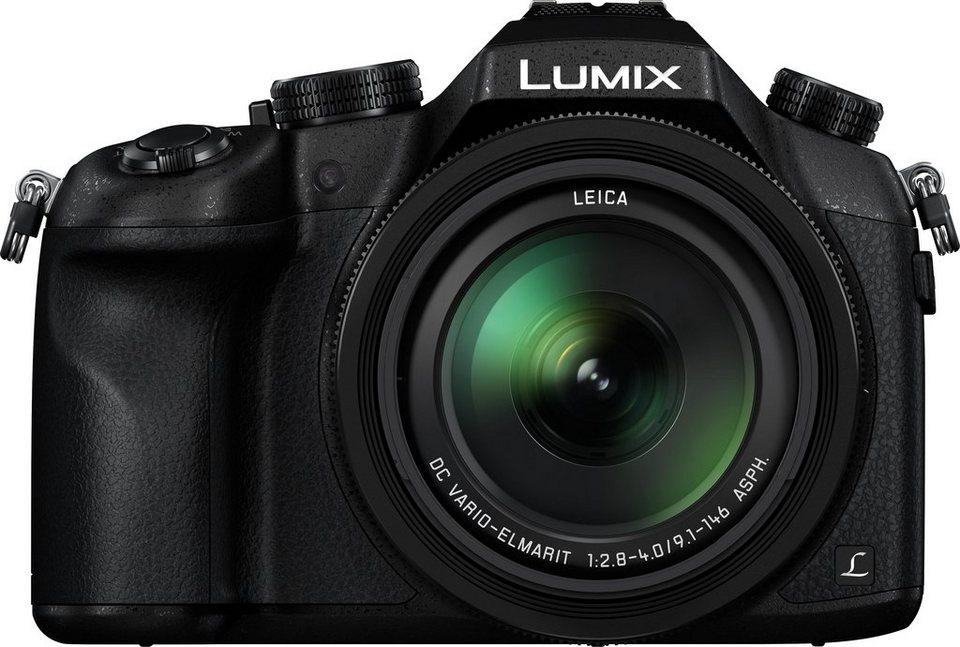 Lumix Panasonic LUMIX DMC-FZ1000 Super Zoom Kamera, 20,1 Megapixel, 16x opt. Zoom in schwarz