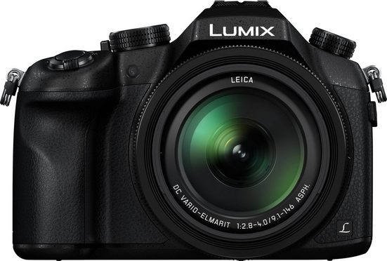 Lumix Panasonic »LUMIX DMC-FZ1000« Superzoom-Kamera (Leica DC Vario-Elmarit, 20,1 MP, 16x opt. Zoom, WLAN (Wi-Fi), NFC, 16 fach optischer Zoom)