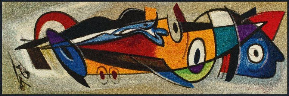 Läufer, wash+dry by Kleen-Tex, In- und Outdoor, »positive flow I«, waschbar in multicolor
