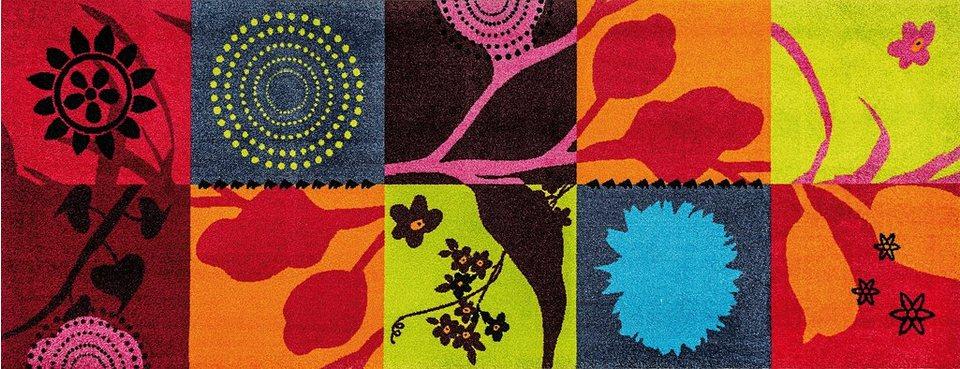 Läufer, wash+dry by Kleen-Tex, In- und Outdoor, »Summer Breeze«, waschbar in multicolor