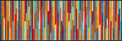 Läufer »Mikado Stripes«, wash+dry by Kleen-Tex, rechteckig, Höhe 7 mm, In- und Outdoor geeignet, waschbar